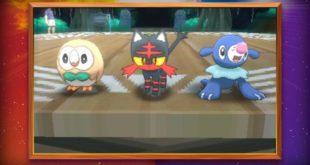 Vidéo : Révélation des prémiers Pokémon dans Pokémon Soleil et Lune