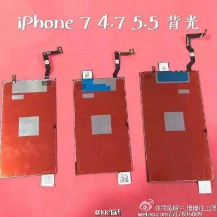 affichage iphone 7 plus fuite