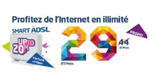 Tunisie Telecom contre attaque avec une promo sur l'ADSL !